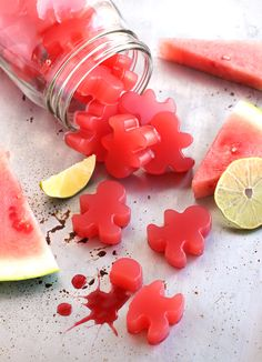 Home Made Sour Watermelon Gummies
