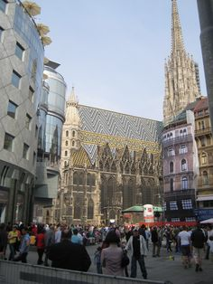 Vienna city centre & St. Stephen's Cathedral