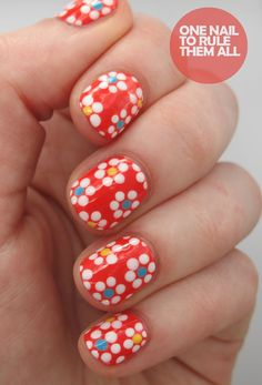 Check out this girl's blog she's a genius/mad scientist with nail art