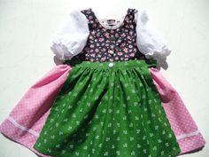 Kleider - Baby-Dirndl Grösse 62 /68 - ein Designerstück von Evi-Herrmann bei DaWanda