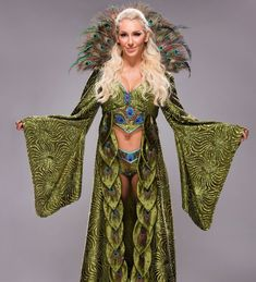 Get a detailed look at the awesome entrance gear Superstars like Charlotte, Enzo Amore and Stephanie McMahon wore on their way down the aisle at WrestleMania Charlotte Flair Wwe, Wwe Raw And Smackdown, Wrestlemania 33, Wwe Outfits, Trish Stratus, Stephanie Mcmahon, Wwe Female Wrestlers, Wwe Girls, Thing 1
