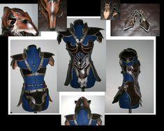 Minus the Fox head piece Female Foxy Armor by Azmal.deviantart.com on @deviantART