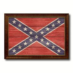 Confederate Flag Patriotic Americana Vintage by AllChalkboard
