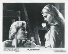 Flash Gordon (Sam J. Jones) and Princess Aura (Ornella Muti) - Flash Gordon 80s Movies, Film Movie, Ornella Muti, Flash Gordon, Laetitia Casta, Vanessa Paradis, Cinema Film, Monica Bellucci, Science Fiction