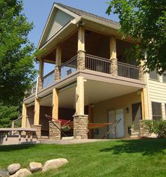 covered deck | Covered Porch & Deck, Plymouth, MN