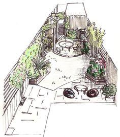 idea make the patio retaining walls into seats outdoor ideas pinterest garden design contemporary gardens and garden ideas