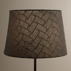 Superior Boasting An Eye Catching Texture, Our Exclusive Gray Geo Stitch Accent Lamp  Shade Creates The Perfect Look Combined With Any Of Our Mix And Match Accent  ...