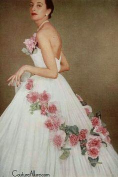 Christian Dior, 1951 Couture Allure Vintage Fashion