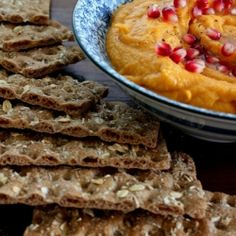 Roasted Butternut Squash Hummus recipe