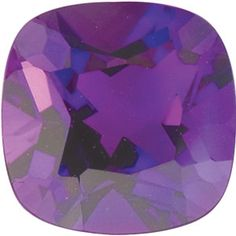 5mm Antique Square Faceted AA Amethyst
