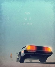 Awesome Illustrations of Movie & TV Cars | ShortList Magazine