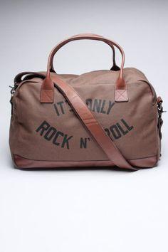 Canvas Duffle Bag / John Varvatos