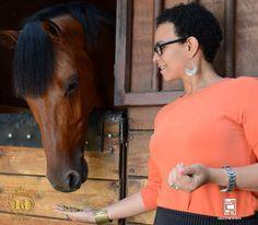 Nada aux Jeux Équestres Mondiaux: les aventures d'une Soudanaise en Normandie - 1 By: NADA H. ABDELMONIEM
