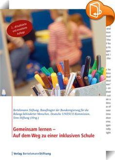 Gemeinsam lernen - Auf dem Weg zu einer inklusiven Schule    ::  Bildung ist ein Menschenrecht! Im März 2009 trat die UN-Behindertenrechtskonvention in Deutschland in Kraft. Damit haben sich die Bundesländer verpflichtet, ein inklusives Bildungssystem auf allen Ebenen zu schaffen. Jedes Kind soll am Unterricht der Regelschulen teilnehmen können. Anders als in vielen anderen Ländern ist es bei uns derzeit noch üblich, Kinder mit Behinderungen, Lernschwierigkeiten und Verhaltensauffällig...