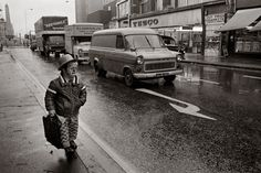 Black and White Photographs of Life in London in the 1970s
