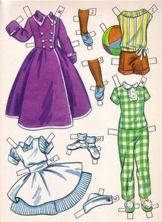 (⑅ ॣ•͈ᴗ•͈ ॣ)♡ ✄Paper Doll Bonecas de Papel: turminha