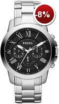 Diamond Watches Collection : Fossil Watch, Mens Chronograph Grant Stainless Steel Bracelet - All . - Watches Topia - Watches: Best Lists, Trends & the Latest Styles Fossil Watches For Men, Army Watches, Cool Watches, Trendy Watches, Rolex Watches, Stainless Steel Watch, Stainless Steel Bracelet, Mens Designer Watches, Shopping