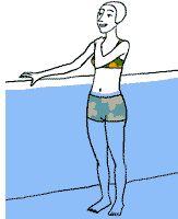 Aquagym, exercice 1