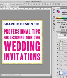 How To: Print Your Own Wedding Invitations A Practical Wedding: Blog Ideas for the Modern Wedding, Plus Marriage
