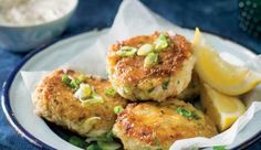 Fish cakes can be bulked up with potato.