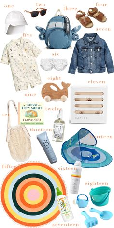sharing our parenting advice for summer toddler travel essentials to pack for beach or warm weather vacations // one brass fox
