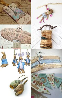 The  Theme of this Treasury is so Cute! Click to Smile.