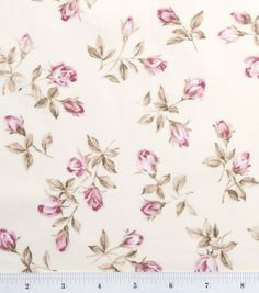 Premium Quilting Fabric Chintz Ls Rose Flower BudsPremium Quilting Fabric Chintz Ls Rose Flower Buds,