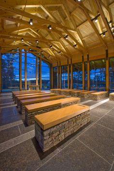 Semper Fidelis Memorial Chapel by Fentress Architects, Quantico, Virginia, USA