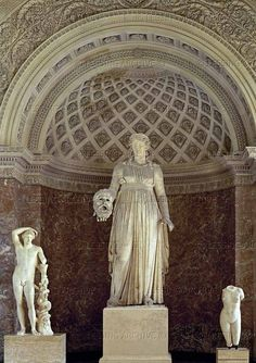 Melpomene-Muse of Tragedy