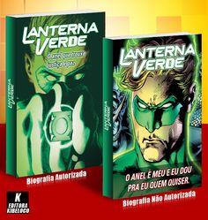 Biografia Autorizada e Não Autorizada: Lanterna Verde