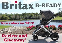Britax B-Ready Stroller giveaway