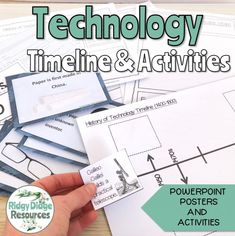 7 Fun Ways to use Timelines in your Classroom - Ridgy Didge Resources Powerpoint Poster, Primary School Curriculum, Technology Timeline, Apps For Teaching, Interactive Whiteboard, Inventions, Worksheets, Language, Classroom