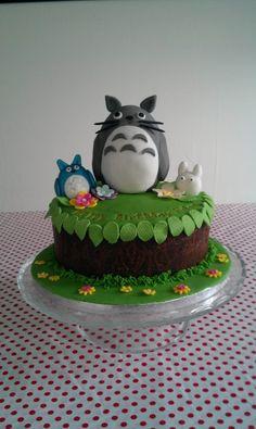 Totoro birthday cake!