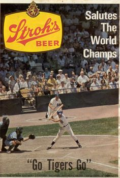 Stroh's and the 1968 World Champs