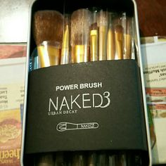 """BRAND NEW URBAN DECAY PROFESSIONAL BRUSH SET This is a 12 piece professional brush set. Was only available for a short time and could only be purchased by """"PROFESSIONAL MAKE UP ARTISTS"""" (not sure why as 1 of my sisters had a friend give it to them). It is BRAND NEW IN ORIGINAL PACKAGING AND WAS SEALED UNTIL MY SISTER OPENED IT. She doesn't use much make up so she is hoping that someone else can use it Urban Decay Makeup Brushes & Tools"""