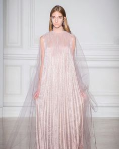 This ethereal @maisonvalentino #HauteCouture gown is giving us all kinds of fairy feels #Valentino via FASHION CANADA MAGAZINE OFFICIAL INSTAGRAM - Fashion Campaigns Haute Couture Advertising Editorial Photography Magazine Cover Designs Supermodels Runway Models