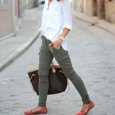 pants shoes coral urgent shopping green cargo white shirt green cargo pants pants coral
