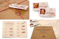Tie the Knot interactive wedding invitations