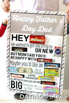 PRINTABLE Father's Day Candy Gram- this is genius!!!
