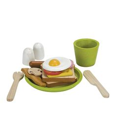 Breakfast Play Set by Plan Toys