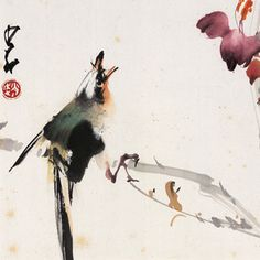 """Zhao Shaoang, """"Flower and Bird"""""""