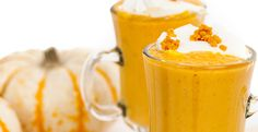 Full of vitamins A and C and antioxidants, this smoothie resembles the traditional Thanksgiving dessert.