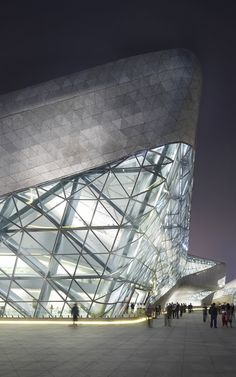 Guangzhou Opera House, Guangzhou, China by Zaha Hadid Architects and Patrik Schumacher