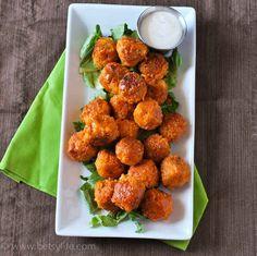 3. Crispy Buffalo Quinoa Bites
