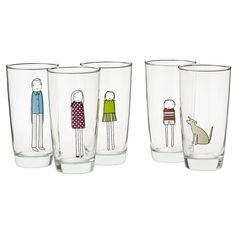 Cute custom glasses from Uncommon Goods