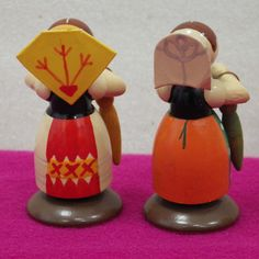 4 Trachtenkinder Erzgebirge Figuren (Lausitz-oder Sorbentracht) in Antiquitäten & Kunst, Volkskunst, Erzgebirge   eBay