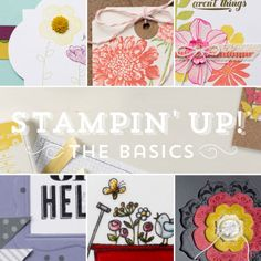 New Online Class from Stampin' Up! Receive 30+ projects with videos on Basic Stamping.   Kimberly Van Diepen, Stampin Up!