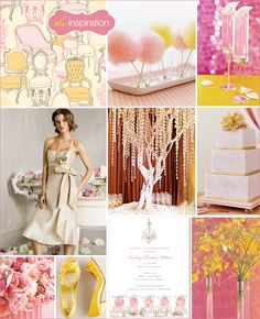 pink inspiration #wedding