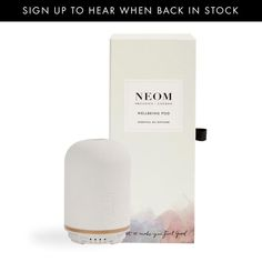 Our NEOM Wellbeing Pod works at the touch of a button, helping you achieve better sleep, less stress, a mood lift or more energy. Scent your home, boost your wellbeing. Natural Essential Oils, Essential Oil Diffuser, Essential Oil Blends, Home Scents, Birthday Board, Beautiful Gift Boxes, Are You Happy, Stress, How Are You Feeling