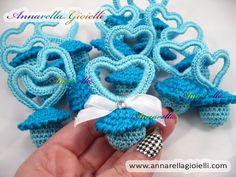 Bomboniere uncinetto. Crochet favor. #annarellagioielli #crochet #ideas
